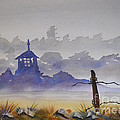 Misty Watercolors by Cecilia Stevens