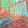 Misty Woods by Kendall Kessler