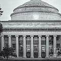 Mit Building 10 And Great Dome II by Clarence Holmes