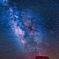 Mitchell Butte Milky Way by Joe Kopp