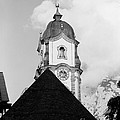 Mittenwald Kirchturm by Riccardo Mottola