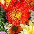 Mixed Flowers by Munir Alawi
