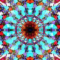 Mixed Media Mandala 1 by Phil Perkins