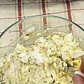 Mixing Egg Salad Ingredients by Lee Serenethos