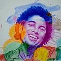 Mj Color Splatter by Sruthi Murali