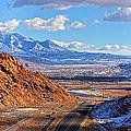 Moab Fault Medium Panorama by Adam Jewell