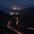 Moab Storm by Adam Romanowicz