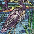 Moasic Crane by Carol Lindquist