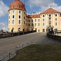 Moated Castle Moritzburg by Christiane Schulze Art And Photography