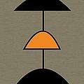 Mobile 2 In Orange by Donna Mibus