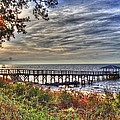 Mobile Bay Sunset by Paul Lindner