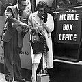 Mobile Box Office Phone by Underwood Archives