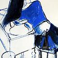Model #4 - Figure Series by Mona Edulesco