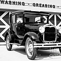 Model A Black And White by Lawrence Burry