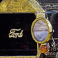Model A Ford by Betty LaRue