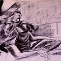 Model Hat Sketch by Kendall Kessler