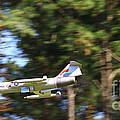 Model Jet by Barry  Blackburn