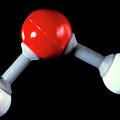 Model Of Water Molecule by Adam Hart-davis/science Photo Library