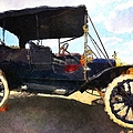 Model T Ford by Liane Wright