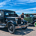Model T Fords by Steve Harrington
