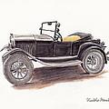 Model T.  by Heather Stinnett