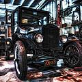 Model T In Hdr by Michael White