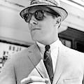 Model Wearing Sunglasses by Richard Waite