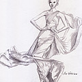 Modeling A Dress by M Valeriano