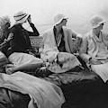 Models On A Yacht by Edward Steichen