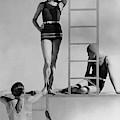 Models Wearing Bathing Suits by George Hoyningen-Huene