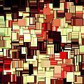 Modern Abstract Art Xvii by Lourry Legarde