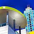 Modern Architecture With Blue Sky by David Lee Thompson