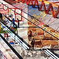Modern Buildings Bejing China by Jean Schweitzer