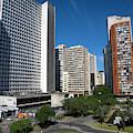 Modern Buildings In Central Rio De by Steve Outram