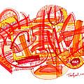 Modern Drawing Eighty-six by Lynne Taetzsch
