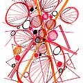 Modern Drawing Fifty-four by Lynne Taetzsch