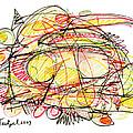 Modern Drawing Seventy-eight by Lynne Taetzsch
