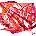 Modern Drawing Seventy-one by Lynne Taetzsch