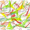 Modern Drawing Seventy-three by Lynne Taetzsch