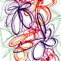 Modern Drawing Sixty-six by Lynne Taetzsch