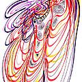 Modern Drawing Sixty-three by Lynne Taetzsch