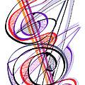 Modern Drawing Sixty-two by Lynne Taetzsch