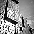 Modern Glass Building by Elena Elisseeva