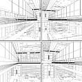 Modern Hall by Nenad Cerovic