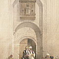 Modern Mansion, Showing The Arabesque by David Roberts
