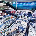 Modern Shopping Mall Interior by Michal Bednarek