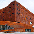 Modern University Architecture Vienna - Rusty Building by Menega Sabidussi