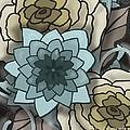 Modern Water Lily by Nancy Long