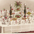 Modified Diner A La Russe, Set by Mary Evans Picture Library