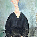 Modigliani's Cafe Singer by Cora Wandel